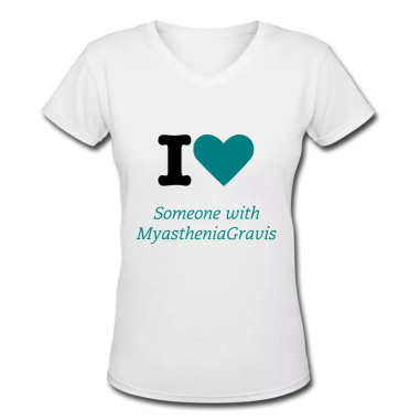i-love-someone-with-myasthenia-gravis-womens-v-neck-t-shirt